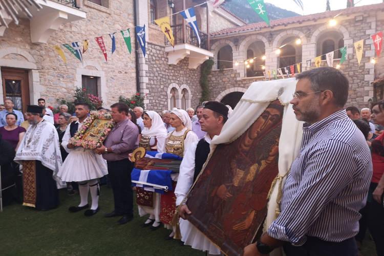 Λαμπρά εόρτασε η Μονή Ιερουσαλήμ Δαυλείας