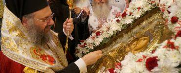 Τα Τρίκαλα υποδέχτηκαν την Παναγία Γλυκοφιλούσα
