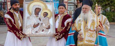 Την Παναγία του Όρους των Ελαιών υποδέχθηκε η Αλεξάνδρεια (ΦΩΤΟ)