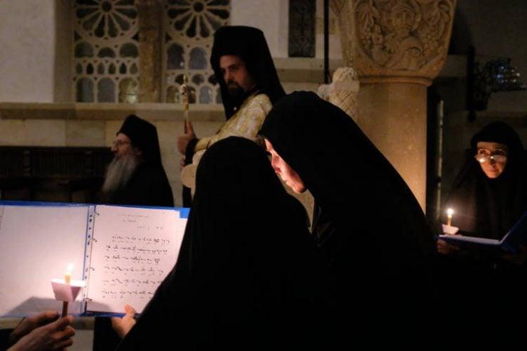 Αγιορείτικη αγρυπνία στη Μονή Αγίας Σκέπης Σολάν