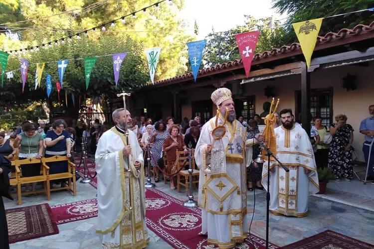 Η εορτή του Αγίου Φανουρίου στο Ηράκλειο Αττικής (ΦΩΤΟ)