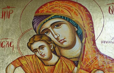 Ύμνος στην πανσέβαστο Παρθένο Πανήγυρις Κοιμήσεως της Θεοτόκου Αχαρνών