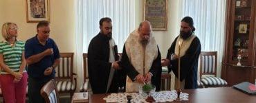 Αγιασμός μηνός Αυγούστου στη Μητρόπολη Θεσσαλιώτιδος