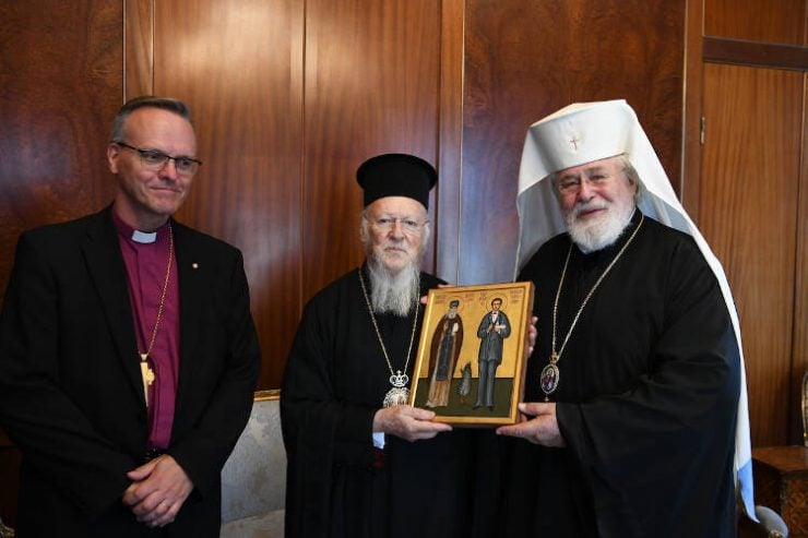 Ο Αρχιεπίσκοπος Ορθοδόξου Αυτονόμου Εκκλησίας της Φιλλανδίας στο Οικουμενικό Πατριαρχείο