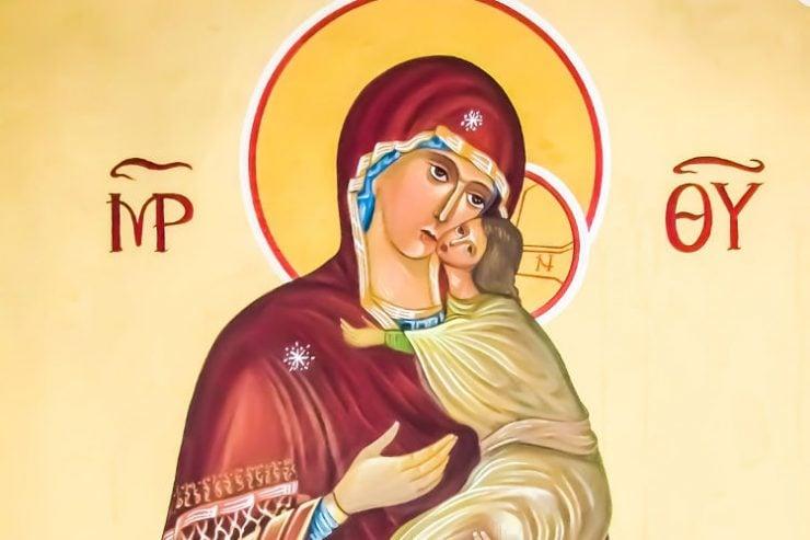 Να στολίσουμε την ψυχή μας με αρετές όπως η Παναγία μας Αγρυπνία Αποδόσεως Κοιμήσεως της Θεοτόκου στο Βόλο