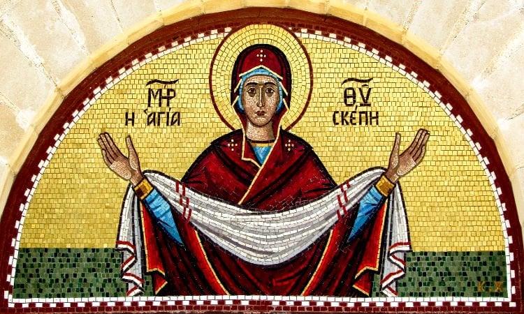Αγρυπνία Αγίας Σκέπης στον Πράσινο Λόφο Ηρακλείου Αττικής Αγρυπνία Αγίας Σκέπης στη Νέα Ιωνία Βόλου Αγρυπνία Αγίας Σκέπης της Θεοτόκου στην Κύπρο