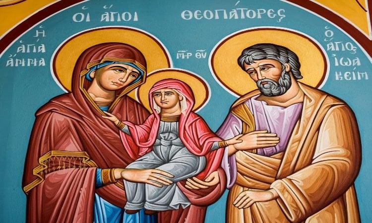 Αγρυπνία Αγίων Θεοπατόρων στη Μεταμόρφωση Αττικής Εορτή Αγίων Θεοπατόρων Ιωακείμ και Άννης