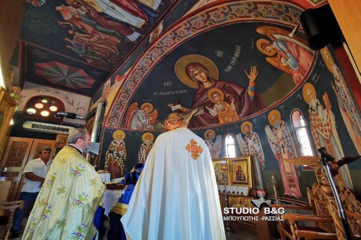 Εορτή Ανακομιδής Ιερού Λειψάνου Αγίου Νεκταρίου στο Ναύπλιο (ΦΩΤΟ)