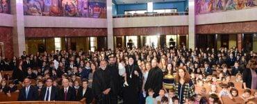 """Αγιασμός στο Σχολείο του Αγίου Νικολάου """"William Spyropoulos"""""""