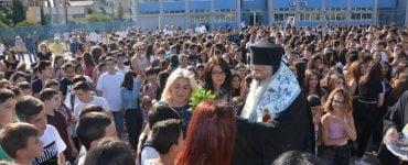 Ο αγιασμός της νέας χρονιάς στα σχολεία της Αλεξανδρούπολης