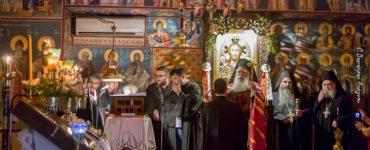 Εορτή Αγίου Χρυσοστόμου Σμύρνης στη Μονή των Καμένων Βούρλων