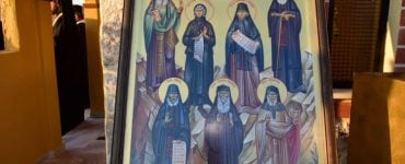 Οι Άγιοι Παΐσιος, Πορφύριος και Ιάκωβος περιπολούν στην μεθόριο