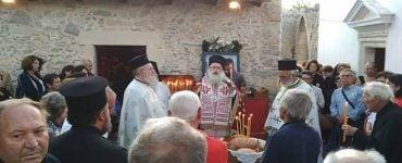 Λαμπρά πανηγύρισε η Ιερά Μονή Αγίας Σοφίας Σητείας