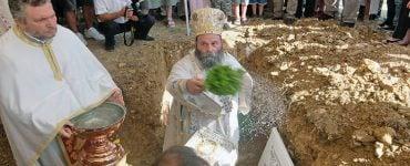Θεμελίωση Ιερού Ναού Αγίου Παϊσίου στα Ιωάννινα