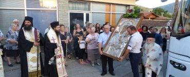 Υποδοχή Παναγίας Οδηγητρίας του Μικροκάστρου στην Εράτυρα (ΦΩΤΟ)