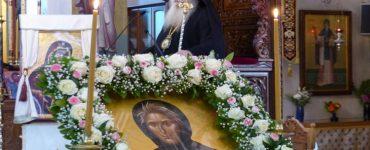 Τιμία Κάρα της Οσίας Σοφίας στην Καστοριά (ΦΩΤΟ)