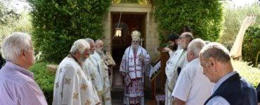 Πλήθη προσκυνητών στην χάρη της Παναγίας της Μυρτιδιωτίσσης στη Μητρόπολη Κυδωνίας