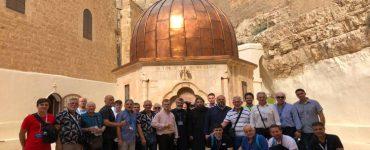 Προσκύνημα Λαρισαίων στη Μονή Αγίου Σάββα Ηγιασμένου