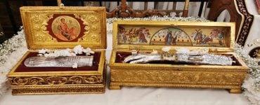 Υποδοχή Λειψάνων Αγίας Μαρίνης και Αγίου Μάμαντος στη Μητρόπολη Λεμεσού