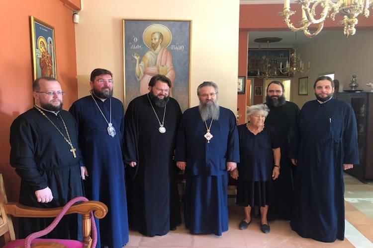 Επισκέψεις Αρχιερέων στον Μητροπολίτη Λευκάδος