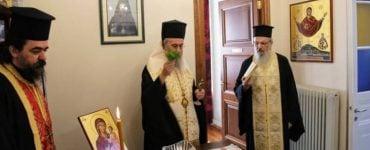 Αγιασμός στα Γραφεία της Μητροπόλεως Ναυπάκτου για τη νέα εκκλησιαστική χρονιά (ΦΩΤΟ)