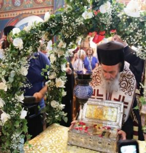 Το Αντίρριο Υποδέχτηκε Τίμιο Ξύλο και το άφθαρτο χέρι της Αγίας Μαρίας της Μαγδαληνής (ΦΩΤΟ)
