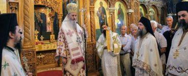 Η Ύψωση του Τιμίου Σταυρού στο Αντίρριο (ΦΩΤΟ)