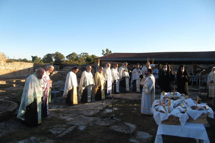 Η Εορτή του Αγίου Αλκίσωνος στην Αρχαία Νικόπολη