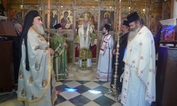 Εορτή Αγίου Ιωάννου Θεολόγου στην Τήνο