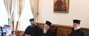 Ο Μητροπολίτης Τρίκκης στο Οικουμενικό Πατριαρχείο