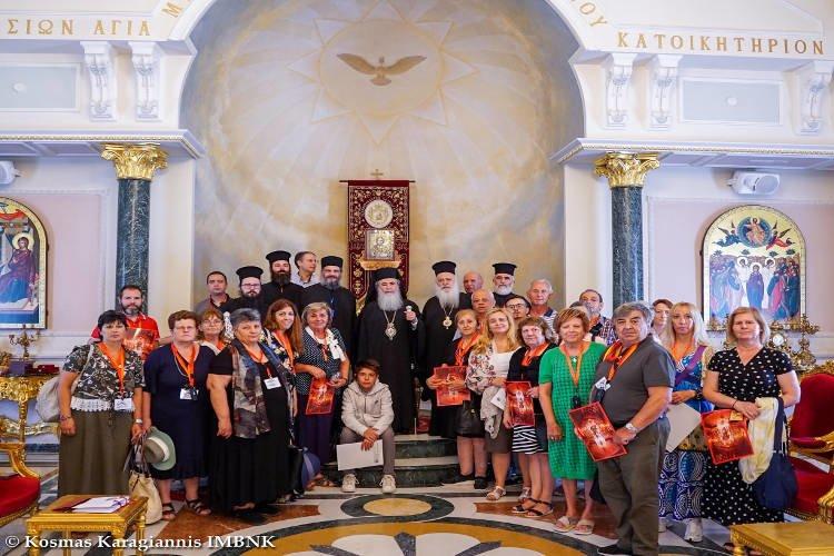 Η Ιερά Μητρόπολη Βεροίας στους Αγίους Τόπους (ΦΩΤΟ)