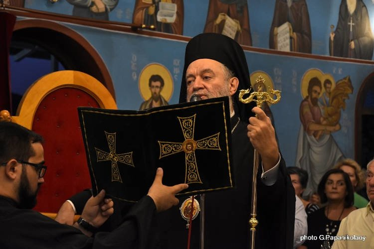 Πλήθος πιστών τίμησε την Αγία Σοφία στη Χαλκίδα