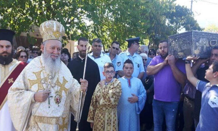 Δεύτερη ετήσια Πανήγυρις στον Όσιο Ιωάννη τον Ρώσσο στο Νέο Προκόπιο Ευβοίας