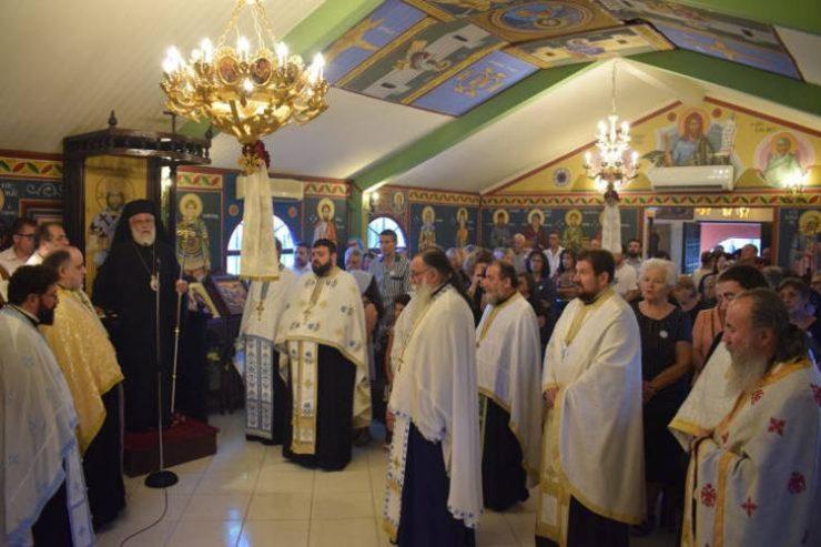 Εορτή Αγίου Σώζοντος στη Μητρόπολη Ιλίου