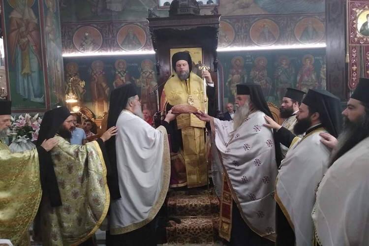 Πανηγυρικός Εσπερινός Αγίας Ευφημίας στη Νέα Χαλκηδόνα (ΦΩΤΟ)