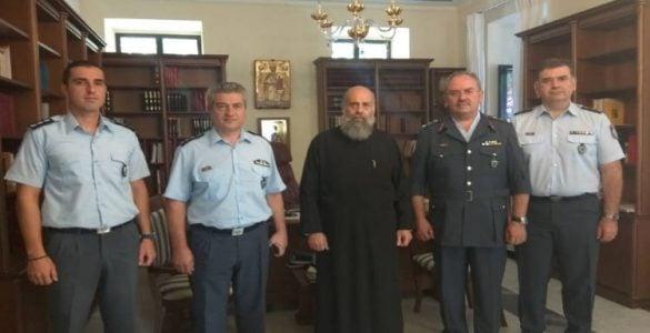 Ο νέος Αστυνομικός Διευθυντής Θεσσαλίας στον Μητροπολίτη Θεσσαλιώτιδος