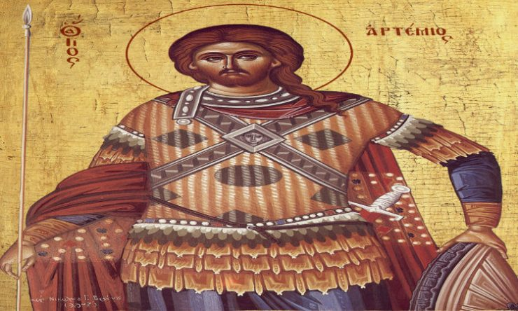 Η Μητρόπολη Καστοριάς υποδέχεται Λείψανο του Αγίου Αρτεμίου