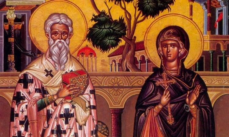 Λείψανο του Αγίου Κυπριανού στη Λιβαδειά Αγρυπνία Αγίου Κυπριανού στη Μητρόπολη Εδέσσης Αγρυπνία Αγίου Κυπριανού στα Τρίκαλα