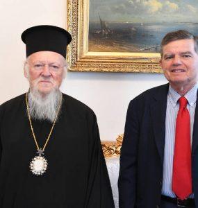 Ο νέος Πολιτικός Διοικητής του Αγίου Όρους στον Οικουμενικό Πατριάρχη (ΦΩΤΟ)