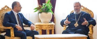 Υπουργός Άμυνας Λιβάνου: Η Εκκλησία της Κύπρου έχει ισχυρή φωνή χάριν στον Αρχιεπίσκοπό της (ΦΩΤΟ)
