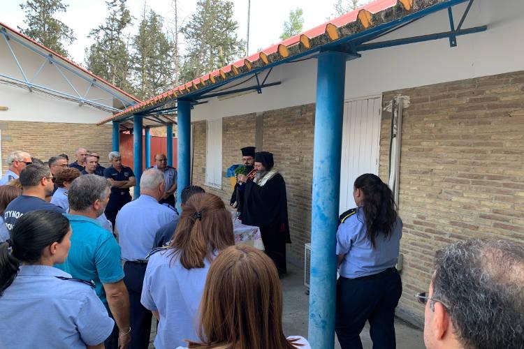 Αγιασμός στο Τμήμα Τροχαίας της Αστυνομίας Κύπρου