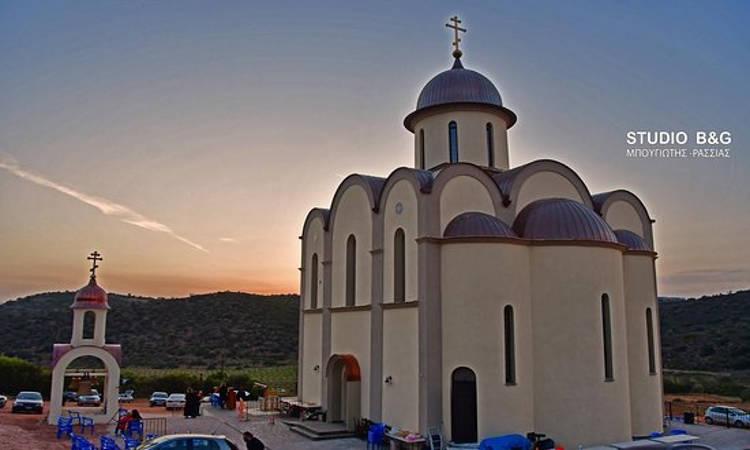 Ξεκινούν εργασίες Αγιογράφησης στον Άγιο Λουκά