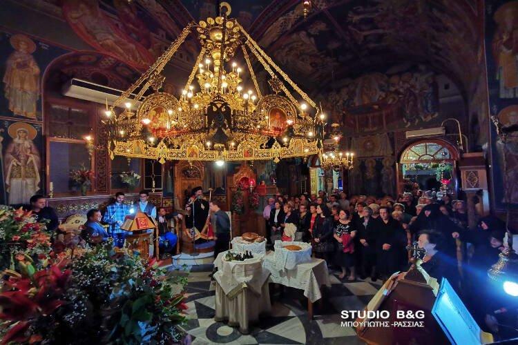 Εορτή Αγίου Δημητρίου στο Βυζαντινό μοναστήρι του Καρακαλά (ΦΩΤΟ)