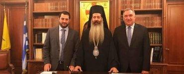 Ο Δήμαρχος Λαμιέων για τον Νέο Μητροπολίτη Φθιώτιδος Συμεών