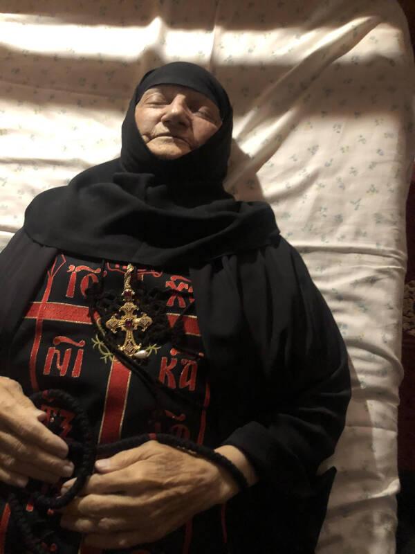 Εκοιμήθη η Καθηγουμένη της Μονής Παντοκράτορος ΤΑΩ Πεντέλης (ΦΩΤΟ)