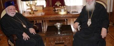 Ο Μητροπολίτης Εσθονίας στον Αρχιεπίσκοπο Αθηνών