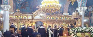 Ευχέλαιο επί την εορτή του Αγίου Δημητρίου στη Μητρόπολη Άρτης