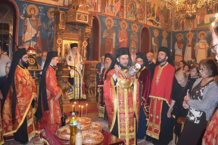 Εορτής Αγίου Δημητρίου στη Μητρόπολη Ελευθερουπόλεως (ΦΩΤΟ)