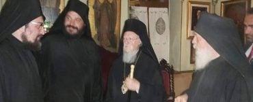Ο Οικουμενικός Πατριάρχης στην Ιερά Μονή Εσφιγμένου Αγίου Όρους