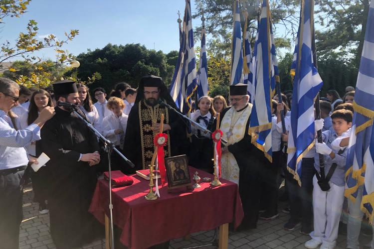 Αρχιμ. Δαμασκηνός Λιονάκης: Για την Ελλάδα και την πίστη μας να τα δώσουμε όλα